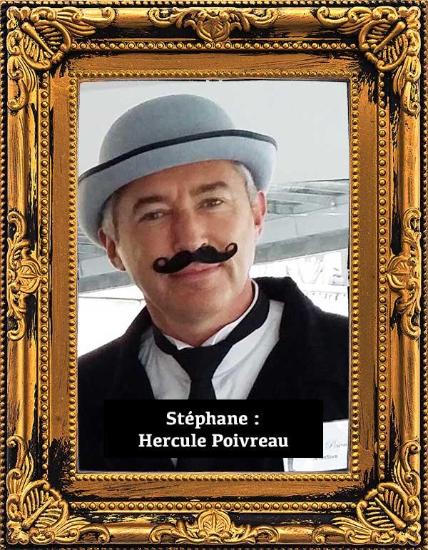 Soirée enquête Paris Stéphane Vasseur joue Hercule Poirot