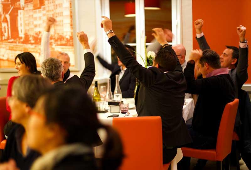 quiz activite seminaire pendant un diner