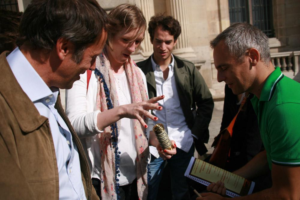 rallye musée entreprise autour du Louvre