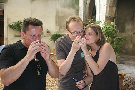 team building challenge olfactif