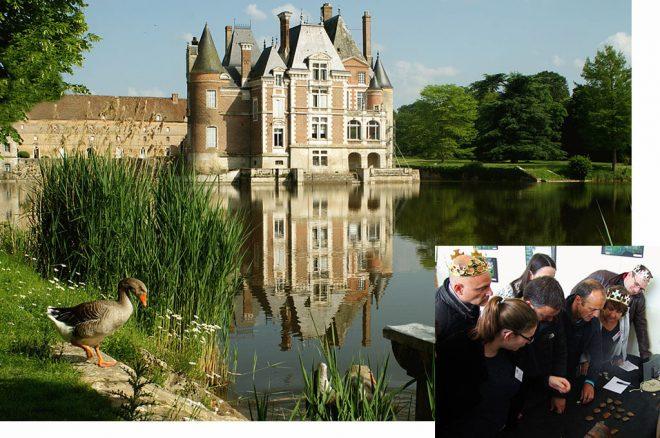 Photo du chateau de la Bussière, lieu de la murder party médiévale